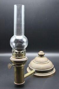 Vintage KOSMOS BRENNER Table Desk Lamp - Oil Lamp Conversion