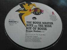The House Master Boyz  ‎– House Nation     1987    ACID HOUSE CLASSIC!!