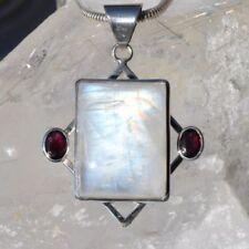 Markenlose Halsketten und Anhänger mit echten Edelsteinen mit Mondstein