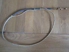 Victotian antique yew holly wood carriage driving horse whip