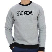 "JC de CASTELBAJAC ""JC/DC"" Herren Sweatshirt grau Sweater grey M L XL NEU ETIKETT"