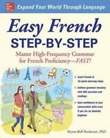 Easy French Step-by-Step by Myrna Bell Rochester (2008, Paperback)