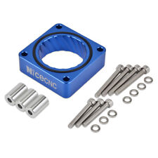 NiceCNC Throttle Body Spacer Blue For Jeep Cherokee 1984-2001 XJ 4WD 2WD 4-Bolt
