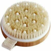 Body Brush for Wet or Dry Brushing - Gentle Exfoliating for Softer, Glowing Skin