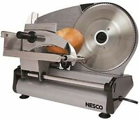 Slicer Meat Electric Food Cheese Blade Deli Cutter Kitchen Stainless Steel Home
