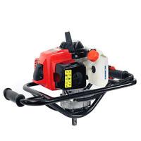 63CC 2-Stroke Gasoline Gas One Man Post Hole Digger Auger Machine 2.5HP EPA