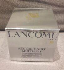 lancome renergie nuit multi lift 50ml cellophane sealed anti wrinkle