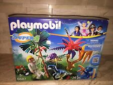 PLAYMOBIL SET 6687 LOST ISLAND WITH VELOCIRAPTOR DINOSAUR