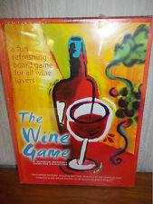 Il vino BOARD GAME (1997) - Adulto Bere gioco, il vino apprezzamento-NUOVO SIGILLATO