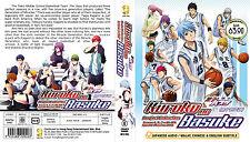 DVD Anime Kuroko No Basuke Basket Ball Complete Season 1+2+3+OVA Eng Sub