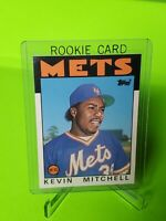 1986 Topps Traded Kevin Mitchell New York Mets #74T Baseball Card