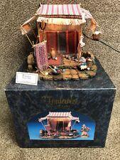 "Fontanini Roman Heirloom Nativity Weavers Shop #50221 For 5"" Village Org Box"