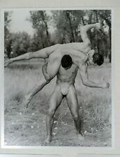 Wrestling Poses, Male Nude Physique Photography, 1940's and 1950's, Don Whitman