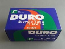 "1x Duro 12"" SCHRADER BMX PRAM Tube 12-1/2x2-1/4 S/V A/V BENT Valve 45-degrees"