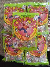 5x America's Original Dubble Bubble Cry Baby Extra Sour Bubble Gum 4 oz ea. NIP
