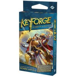 Keyforge - La edad de la ascensión - Mazo Único - Nuevo, en español