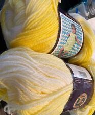 Lion Brand Yarn 923-211 Ice Cream Yarn, Lemon Meringue Lot Of 2