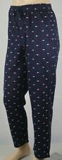 Tommy Hilfiger Navy Blue Pajamas Lounge Sleep Pants Multi Tommy Logo NWT
