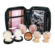 XXL Kit With Case (Warm) Mineral Makeup Set Bare Face Matte Powder Foundation