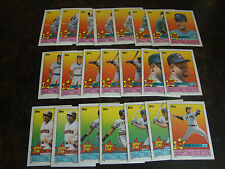 1989 Topps Baseball---Stickers---Lot Of 22---Dupes---Multi-Lots---See List