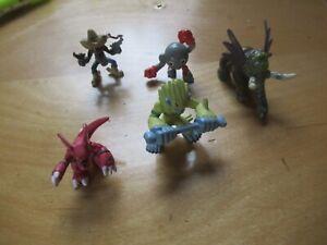 """Digimon 1.25"""" Lot Mini Figure H-T 01 Bandai"""