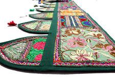Handmade Ethnic Home Decor Toran Tapestry Embroidered Garland Door Hanging Green