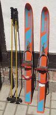 MINI- SKIER Kinderskier 87 cm Skier Ski old ancien antichi vieux um 1970 DDR- PL