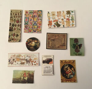 Dolls House Unframed Pictures