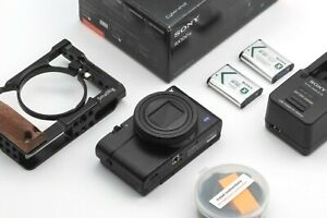 MINT! Sony DSC-RX100 VI RX100M6 Deluxe Bundle! US/ Canada Only! Read!