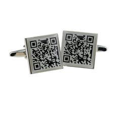 Qr Code Design Cufflinks X2Bocs140