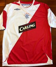 Umbro GLASGOW RANGERS 2006/07 XL Away Soccer Jersey Football Shirt Scotland