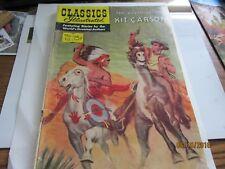 Adventures of Kit Carson Classics Illus  RARE Western Comic BOOK 1953 Vintage