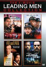 4movie Dvd Pelham 123,Philadelphia,Glory,Jo hn Travolta Tom Hanks Morgan Freeman