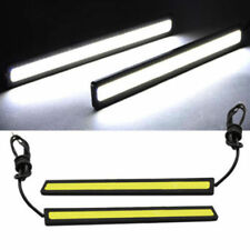 12V LED STRIP DRL DAYTIME RUNNING LIGHTS FOG COB CAR LAMP WHITE DAY DRIVING