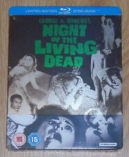 The Night of the Living Dead (blu-ray) Steelbook. NEW & SEALED (UK release)