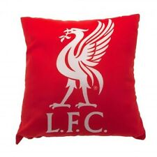 Liverpool coussin Rouge Crest Soft Throw Cadeau Officiel Sous Licence Football Produit