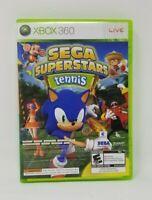 Sega Superstars Tennis & Xbox Live Arcade Compilation (Xbox 360, 2008) Complete