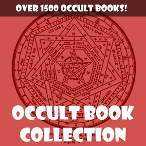 COLLECTION OF 1521 OCCULT, WITCHCRAFT, WICCA, DEMONOLOGY, ALCHEMY, MAGICK BOOKS