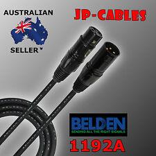 3M - Belden Brilliance 1192A, Premium Quad XLR Microphone Cable - Made in U.S.A