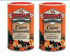 Louisiana Fish Fry Products Cajun Seasoning 2 Canister Pack 8 oz. each