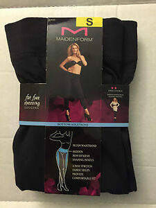FLEXEES FIRM CONTROL TUMMY TONING LEGGINGS  High Waisted