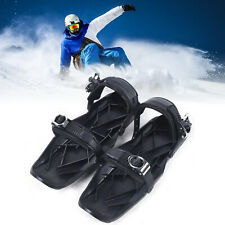 New listing Outdoor Ski Shoes Skiing Mini Sled Board Ski Boots Skates For Winter Snow 1.6kg
