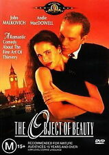 The Object Of Beauty - Comedy / Romantic / Thriller - NEW DVD