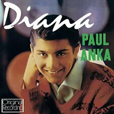 PAUL ANKA ~ DIANA NEW SEALED CD ORIGINALS PLUS INSTRUMENTAL VERSIONS  OF DIANA