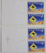 Stadspost Zaanstad 2000 - 2 paren Australia, Kangaroo met velranden
