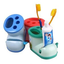 Novelty Boots Shape Tableware Toothbrush Holder Storage Case Toothpaste Squeezer