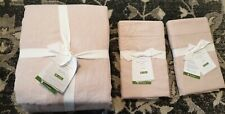 POTTERY BARN Belgian Flax Linen Duvet Cover & Shams - Brand New