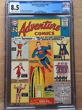 ADVENTURE COMICS #300 CGC VF+ 8.5; OW-W; Legion of Super-Heroes begins!