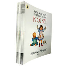Shirley Hughes Nursery NOISY,ABC,WINTER 10 Books Collection Set Childrens pack