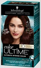 Schwarzkopf Permanent Glam Nights 4.28 Auburn Brown Hair Color  10 Weeks-Color